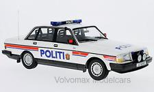 "wonderful modelcar VOLVO 240 GL SALOON ""POLTI"" (NORWAY) 1986 - 1/18 - lim.300pcs"