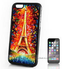 ( For iPhone 4 / 4S ) Back Case Cover P11403 Paris Eiffel Tower