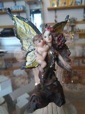 CONFEZIONI BOMBONIERA fata con bimbo fatina fantasy magia elfo troll pixie magic