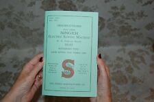 Large Deluxe-edition Instructions Manual for SINGER 15-91 Sewing Machine