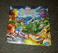 Marvel Chess Echecs Set Board Game  2015 Hasbro B6933 Heroes vs Villians