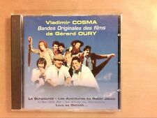 CD / VLADIMIR COSMA / MUSIQUE DES FILMS DE GERARD OURY / TRES BON ETAT