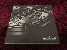 Blancpain Watch Catalogue 2018 - UK Issue