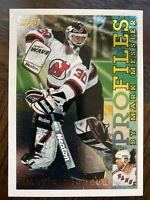 1995-96 Topps Profiles #PF6 Martin Brodeur Insert Card