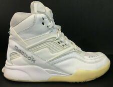 e040035807e Reebok Pump Twilight Zone Mens Basketball Shoe Sz 8.5 White Silver Excellent