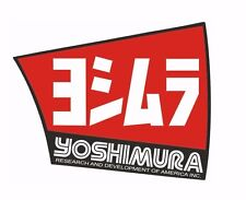 Yoshimura NEW MX Exhaust Muffler Decal RS-4 Replacement End Cap Sticker