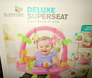 Summer 3 Stage Super seat Deluxe Giggles Island Support, Activity, & Booster