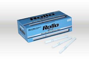 10,000 ROLLO MICRO SLIM BLUE Tobbacco Cigarrette filter Tube Bulk Wholesale