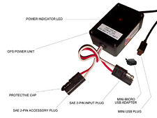 Snowmobile Atv Ac-Dc Usb Power Supply for Garmin Magellan Gps Galaxy Cell Phone