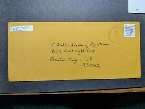 APO 09701 KITZINGEN, GERMANY 1987 Army Cover 981st MP Co Soldier's Mail