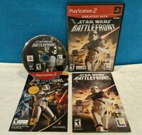 Star Wars: Battlefront - Greatest Hits (Sony PlayStation 2, 2004) CIB - Tested