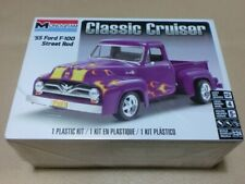 Monogram 0880 1:24th scale  1955 Ford F-100 Pickup truck Street Rod