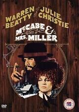 McCABE & MRS MILLER ROBERT ALTMAN WARREN BEATTY JULIE CHRISTIE WARNER UK DVD NEW