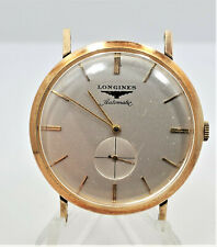 Running Longines Automatic 19A 17J Gold Filled 33mm Wrist Watch W5