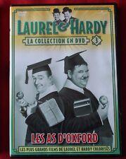 Laurel et Hardy, les as d'Oxford, DVD N° 3