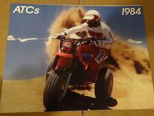 1984 Honda ATC's - All Models Three Wheeler Sales Brochure - Literature