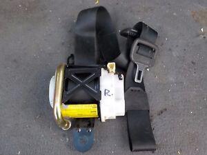 2004 2005 2006 2007 MAZDA RX-8 FRONT RIGHT SIDE (RH) SEAT BELT RETRACTOR BLACK