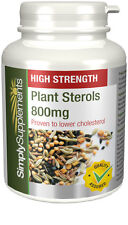 Plant Sterols 800mg | 120 Tablets | Proven To Naturally Lower Cholesterol