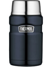 Thermos Stainless Steel Vacuum Insulated King Food Jar Midnight Blue 710ml
