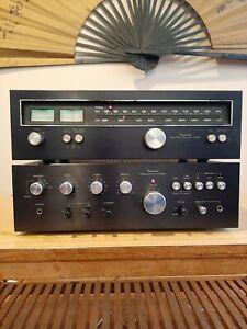 Vintage Sansui Amp AU-4900 and Tuner TU-3900