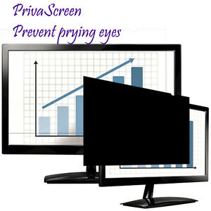 """Fellowes PrivaScreen™  Blackout Privacy Filter 22.0""""/ 558.8mm Widescreen"""
