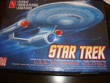 Amt Star Trek Uss Enterprise Ncc-1701-C 1:2500 Scale Plastic Model Kit #661-Mib