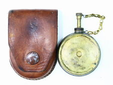 Yugo Mauser or SKS BRASS Banjo Oiler and Leather Pouch