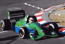 Fotografía 9x6, Bertrand Gachot F1 191 1991 temporada de Grand Prix de Jordan