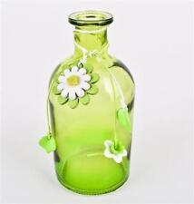 Vasi vetro verde per la decorazione della casa