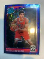 2018 Panini Donruss Optic Rated Rookies Blue /49 Chandler Hutchison #166 Rookie