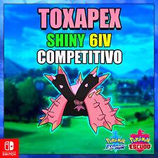 Toxapex Shiny 6 IV Pokemon Espada escudo competitivo - max dinamax - pokerus