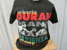 VINTAGE BOXING ROBERTO DURAN VS. VINNY PAZIENZA 1994 LARGE T-SHIRT MIDDLE WEIGHT