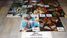 jackie chan LE MARIN DES MERS DE CHINE ! jeu de photos cinema  lobby card