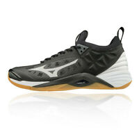 Mizuno Mens Wave Momentum Indoor Court Shoes Black Sports Squash Badminton