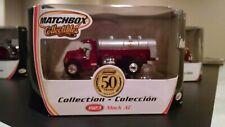 MATCHBOX 1923 Mack AC Collection 50 years Fire Truck