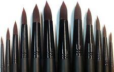 Synthetic Hair Round Style Paint Brush Set 12pcs Art9508