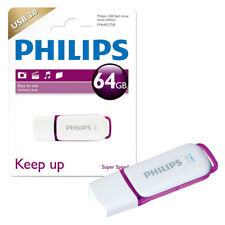 NEW 64GB Philips Snow Series USB 3.0 Flash Drive USB 3.0 Memory Stick 64GB
