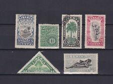 LIBERIA 1918, Sc #165-171, part of set, CV $30, MH/Used