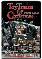 Toy Trains & Christmas Parts 1,2,3 DVD NEW Lionel American Flyer Ives Marx video