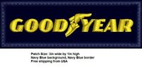 **LOVE IT OR ITS FREE* GOODYEAR Embroidered Patch, IRON ON/SEW ON, FREE SHIP