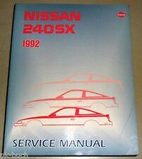 Werkstatthandbuch / Service Manual Nissan 240SX S13 1992
