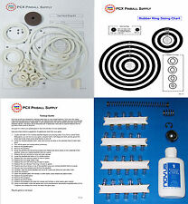 1966 Williams Top Hand Machine Tune-up Kit - Includes Rubber Ring Kit!