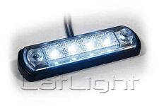 8 Stück LED Positionsleuchten MAN Weiß Positionslicht Anhänger LKW 12 / 24 Volt