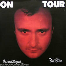 GENESIS PHIL COLLINS 85 NO JACKET CLASSIC PROMO POSTER