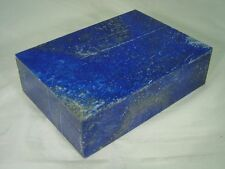 """BUTW Hand Crafted Lapis Lazuli 5 7/8"""" Jewelry Box Gorgeous Color 8175D dl"""