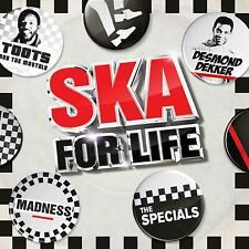 SKA FOR LIFE 3 CD ALBUM SET - VARIOUS ARTISTS (Released June 7th 2019)