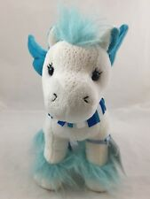 Ganz Sapphire Pegasus Plush Webkinz Blue White Stuffed Animal W Sealed Code Toy