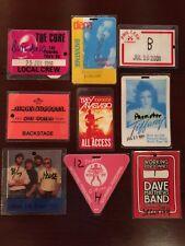 Alabama Backstage Pass Just Us Tour 1988 8/7/88 Pine Knob Clarkston MI