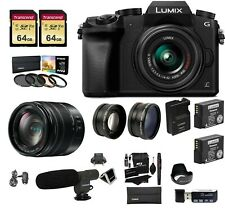Panasonic DMC-G7 Mirrorless Camera,14-140 mm Lens LUMIX G Vario H-FS14140 Bundle