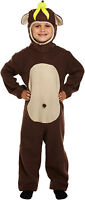 New Childs Monkey Animal Fancy Dress Dressing Up Outfit Costume Age 4-9 Year New